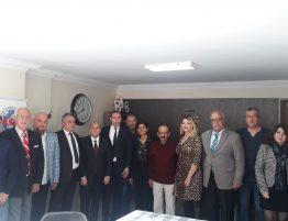 Genel Başkanımız İzmir Temsilciliğimizi ziyaret etti